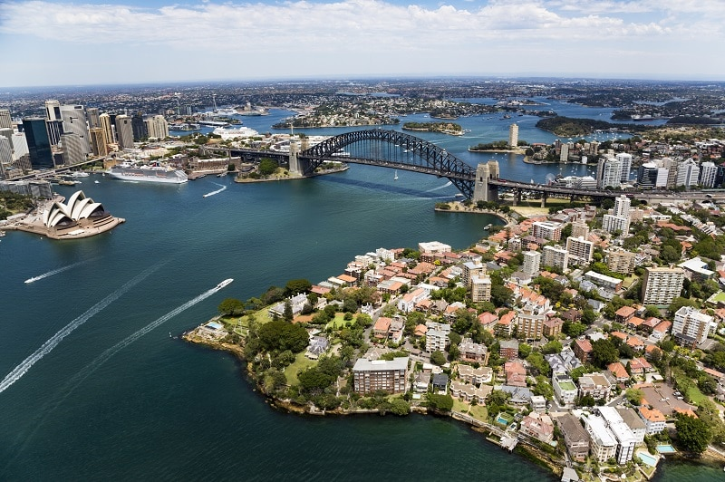 Sydney Harbour Lifestyle Aerial
