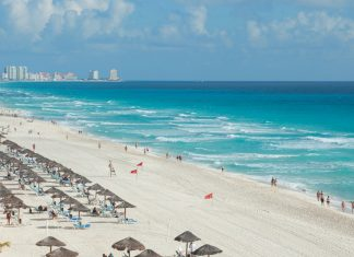 Cancun beach, Mexico