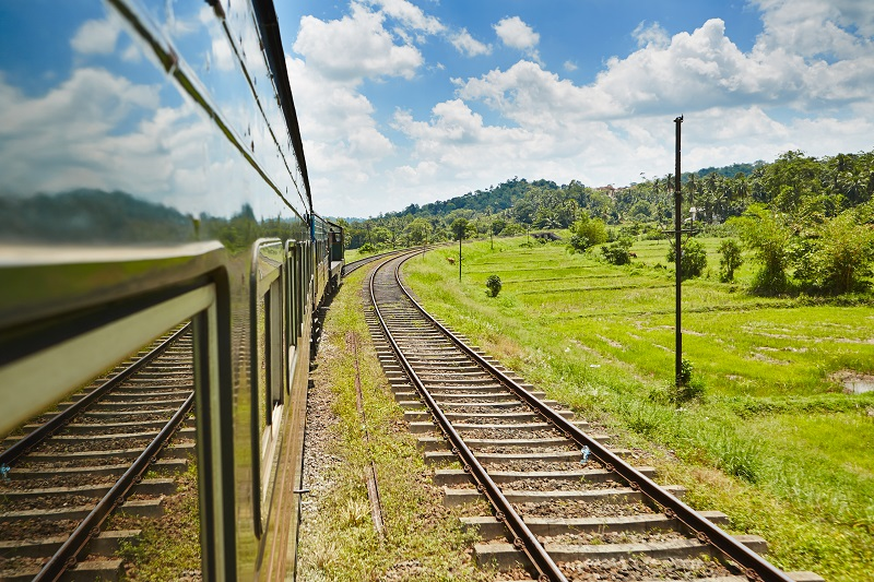 Train in Sri Lanka