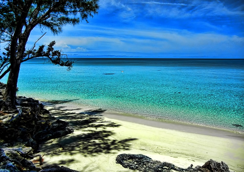Beach_scene_at_Current,_Eleuthera