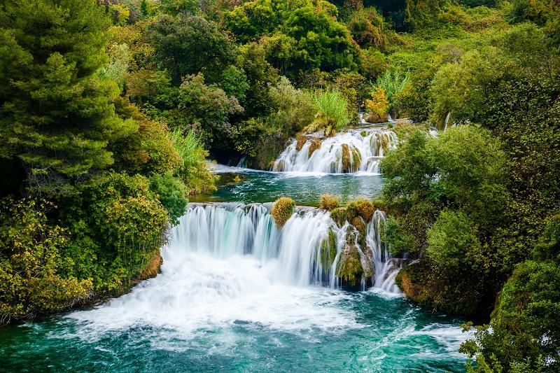 Waterfall of Krka National Park, Croatia