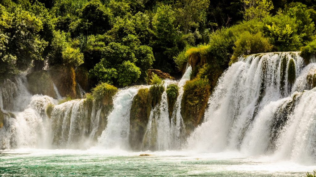 Waterfalls europe croatia travel location