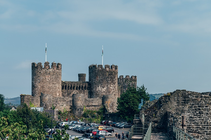 Conwy, North Wales, UK