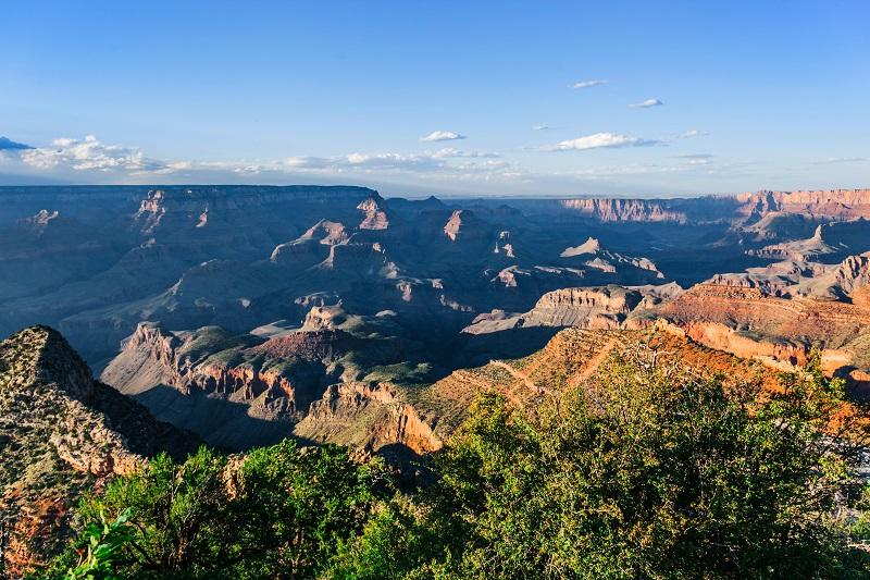 The Grand Canyon landscape in Arizona, USA