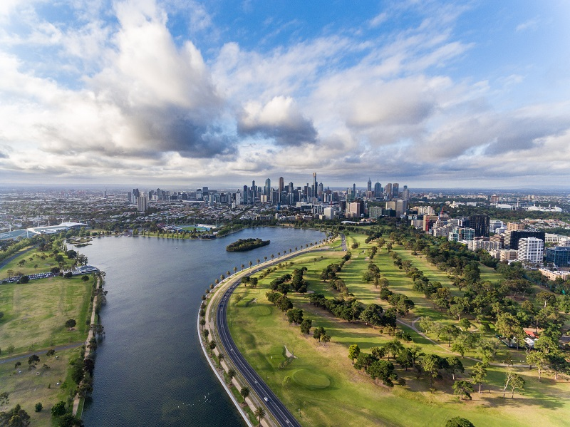 aerial-view-of-melbourne