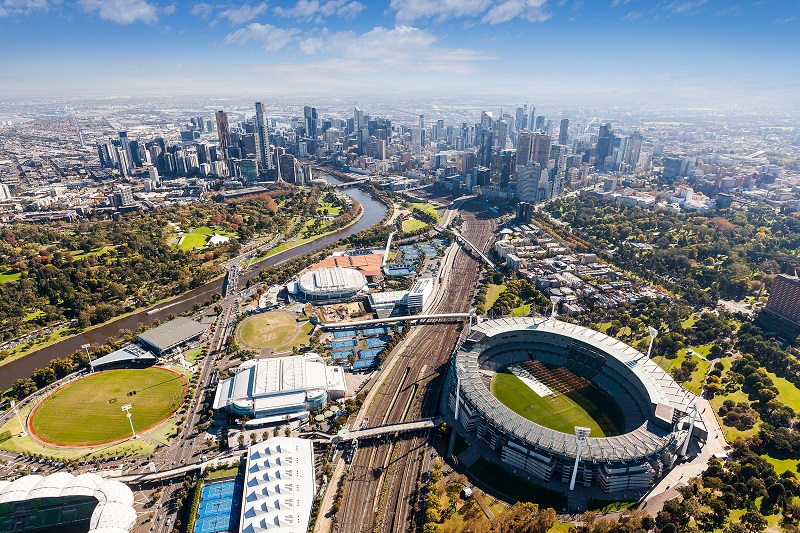melbourne-aerial-view