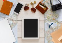 Travel planning and technologies concept