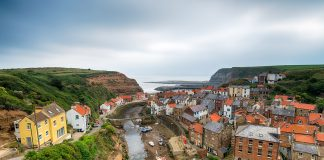 Staithes in Yorkshire